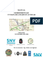 Manual Para Georeferenciar Un Mapa Escaneado en AutoCAD