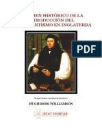 Protestantismo en Inglaterra(Hugh Ross Williamson)