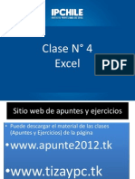 Clase 4 -Excel
