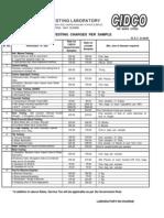 cidco rate list