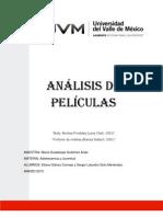 ADOLESCENCIA Y JUVENTUD ANÁLISIS DE PELÍCULAS