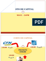 Costo Capital WACC ( Clase 1)