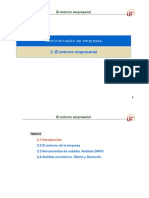 Tema 2 El Entorno Empresarial