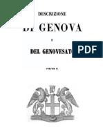 Descrizione Di Genova e Del Genovesato. Vol.ii - 1846