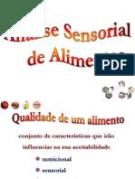 Curso análise sensorial