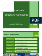 advancement in concrete technology