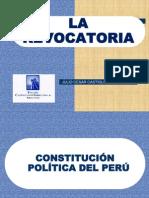 La Revocatoria - Julio Cesar Castiglioni Ghiglino