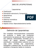 Metabolismo Lipoproteinas Presentacion Ppt
