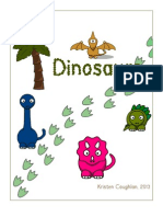 Dinosaur Preschool Unit