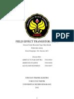 FIELD EFFECT TRANSISTOR.docx