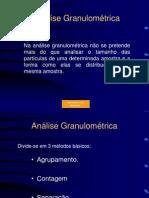 Anal.Granulométrica