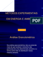 Analise Granulométricas