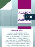ACCIÓN DE AMPARO
