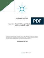 qpsk modulation and error correcting codes