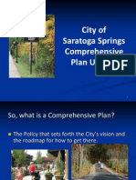 Saratoga Springs Comprehensive Plan Powerpoint 2013