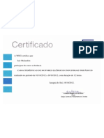 Certificado Weg