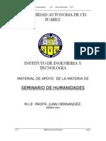 Seminario de Humanidades ELI