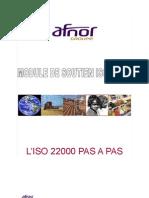 ISO 22000 Module de Soutien n 3 L ISO 22000 Pas a Pas