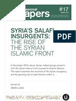 Syria's Salafi Insurgents