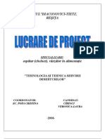Proiect Clasa a 11 A