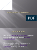 World Trade Organization...