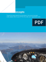Basic Concepts of Flight