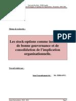 Th de La Firme__stock Option