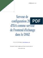 Serveur Configuration Isa 2004 Exchenger Server