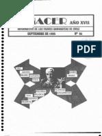 Renacer no. 64 - Septiembre 1995