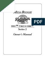Mesa Boogie Single Rectifier Series 2