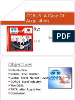 Tata & Corus Deal
