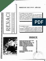 Renacer no. 67 - Marzo 1997