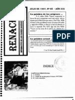 Renacer no. 68 - Julio 1997