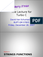 The Lecture for Turbo C