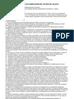 Reglamento de Zonificacion de Estado de Jalisco