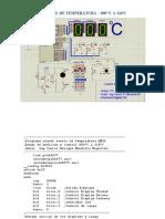 Control Temperatura Usando Sensor de Temperatura LM35