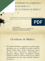 Occidente de Mexico