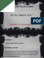 Bloque 3. Tema 2. El Imperialismo Del Siglo Xix