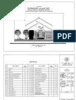 Gambar Cad Rumah Type 100