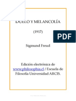 Freud Duelo y Melancolia