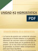 UNIDAD 2 Hidrostatica.ppt