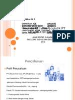 Ppt Analisa Aktivitas Logistik PT OTSUKA INDONESIA