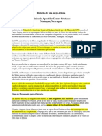 Historia de Una Mega-iglesia - Ministerios Apostolar Centro Cristiano de Managua