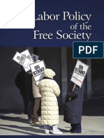 Labor Policy of the Free Society