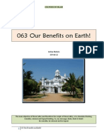 063 Our Benefits on Earth