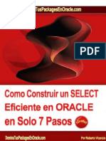 Construir Select en ORACLE