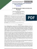 ORGANIZATIONAL DIFFERENTIATION THROUGH EMPLOYER BRANDING