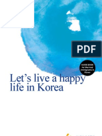 Let's live a happy