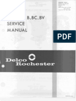 Rochester B BC BV Service Manual