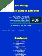 Bist,dft,built in self test , design for test